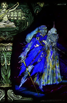 The Eve of Saint Agnes by Harry Clarke (detail)